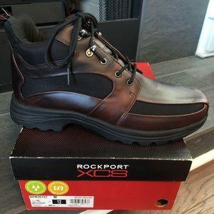 NIB Rockport XCS Brown / Black Mesh Size 12 M